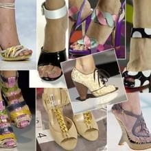 Какая обувь актуальна в весенне-летнем сезоне 2013